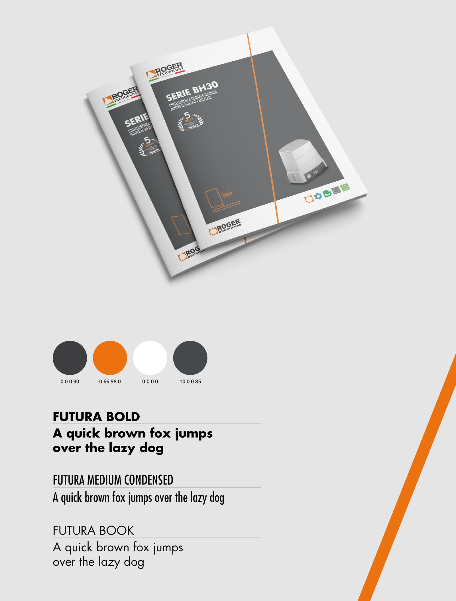 brochure prodotto tecnico automazione cancelli