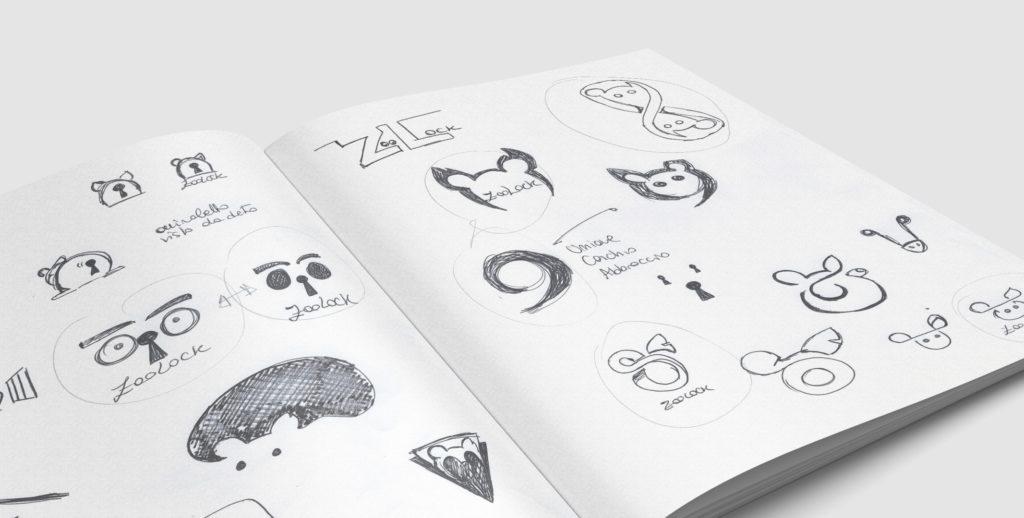progettazione logo zoolock