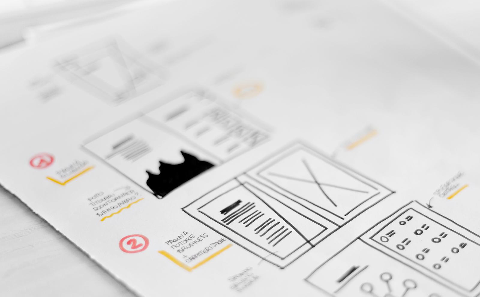 brochure prodotto layout