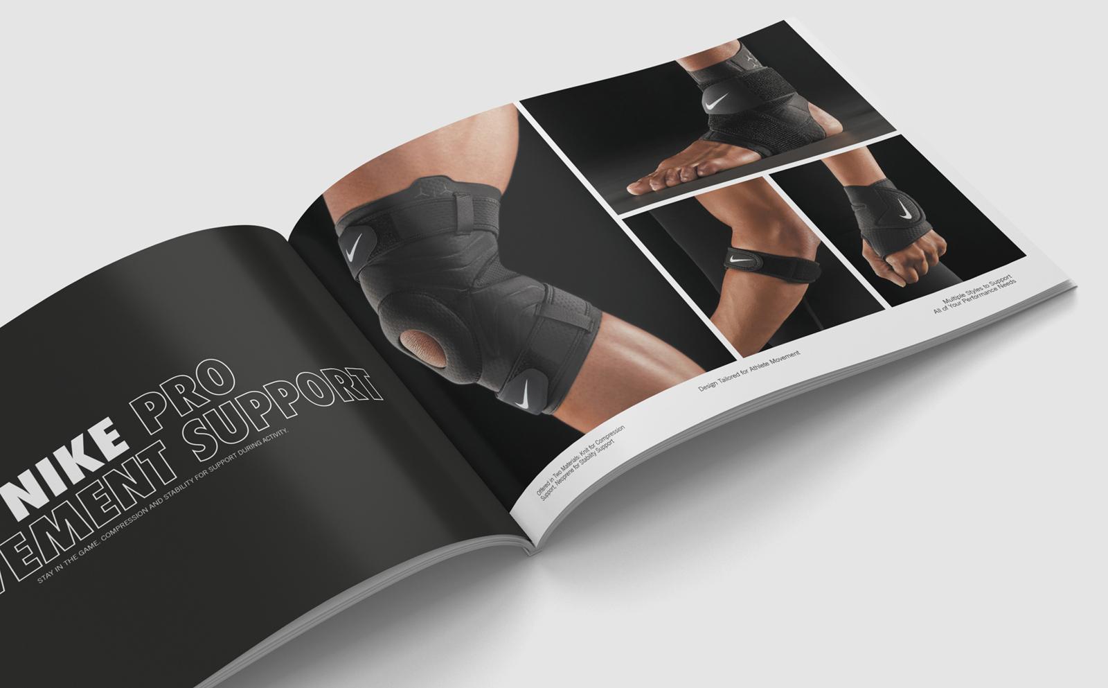 grafica catalogo nike